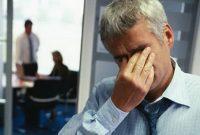 Pessoa estressada